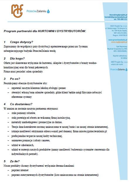 program partnerski hurtownie