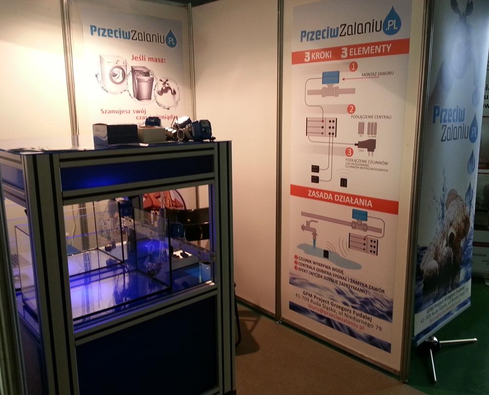dni techniki na politechnice sląskiej adrosensor prezentuje urządzenie przeciw zalaniu